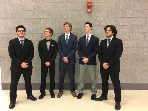 Notable members of NHS including Andrew Jariga, President, and Ahmed Darwich, Vice President look into the future.