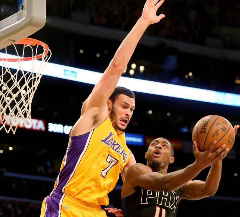 Phoenix at LA Lakers