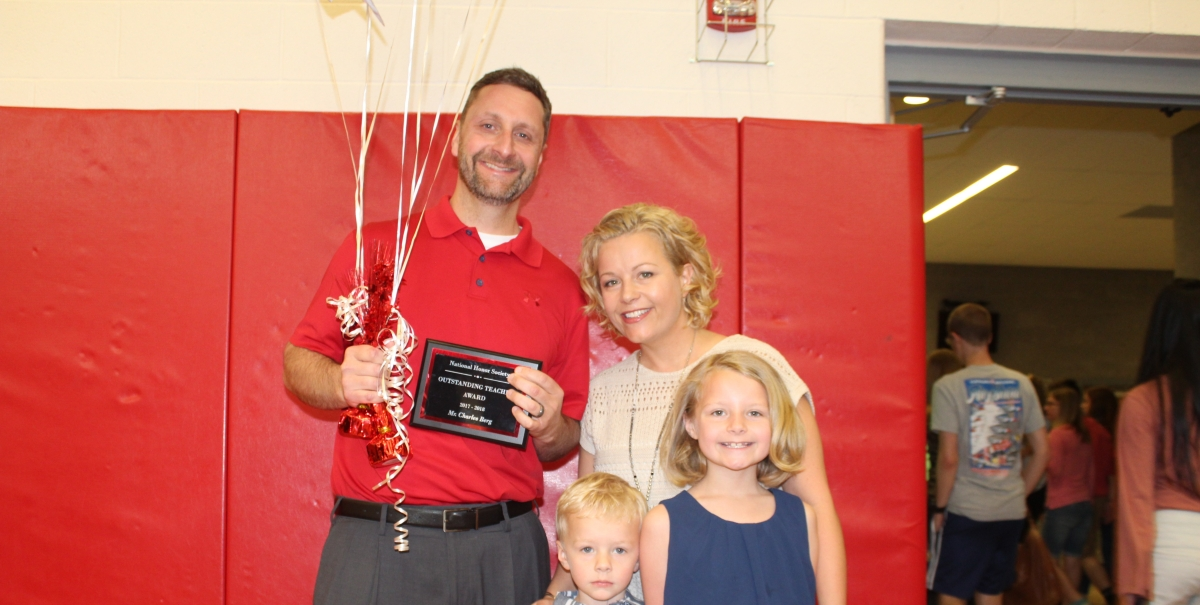 Berg awarded Teacher of the Year